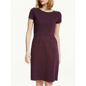 NWT Boden Phoebe Buttercup Spot Jersey Dress 16